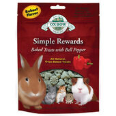 8 x Oxbow Simple Rewards Baked Treats With Bell Pepper 60g