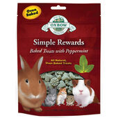 8 x Oxbow Simple Rewards Baked Treats With Peppermint 60g