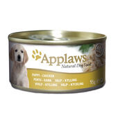 12 x Applaws Dog Can Puppy Chicken 95g
