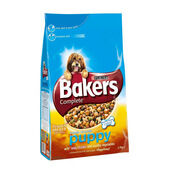 Bakers Complete Chicken & Veg Puppy Dog Food - 12.5kg