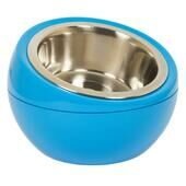 Hing Designs The Dome Dog & Cat Pet Feeding Bowl - Blue