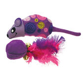 Kong Cat Tropics Mouse/Ball Bundle