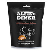 10 x Alfie's Diner Salmon Treats 100g