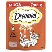 Dreamies Cat Treats With Chicken Mega Pack 180g