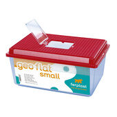 Ferplast Geo Plastic Tank Flat Small Mixed Colours 35.5x23.5x16.5cm