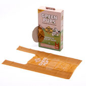 Bags On Board Green Pups Handle Tie Pick Up Bags (100 Bags)