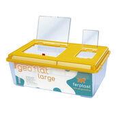 Ferplast Geo Plastic Tank Flat Large Mixed Colours 46.7x30.5x17.5cm