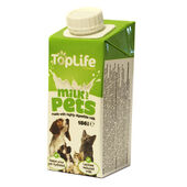 14 x TopLife Formula Dog & Cat Milk 186ml