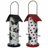 Supa Contemporary Wild Bird Patterned Seed Feeder Gloucester