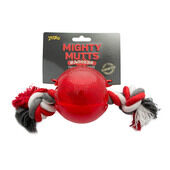 3 x Petlove Mighty Mutts Ball With Rope