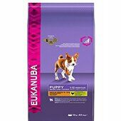 Eukanuba Dog Puppy & Junior Medium Breed Chicken 12kg