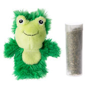 Kong Catnip Botanicals Refillable Lemongrass Frog