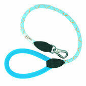 Long Paws Comfort Padded Rope Lead Light Blue 75cm (30