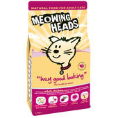 Meowing Heads Hey Good Looking Adult Dry Cat Food
