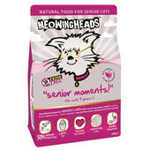 8 x Meowing Heads Senior Moments 250g