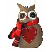 3 x Christmas Otis Owl 17cm