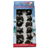 12 x Hatchwells Christmas Carob Shapes For Dogs