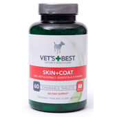 Vets Best Skin And Coat Tablets For Dogs
