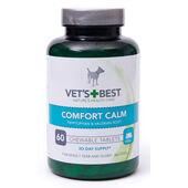 Vets Best Comfort Calm Tablets For Dogs 60 Tablets