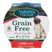 7 x Nature's Harvest Small Dog Elite Lamb & Sweet Potato 150g