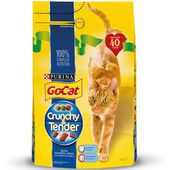 Go-Cat Crunchy And Tender Salmon Tuna & Veg 3kg