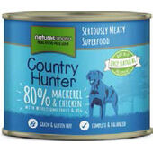 Natures Menu Country Hunter Meals Dog Can Mackerel With Chicken 600g