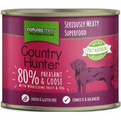 Natures Menu Country Hunter Meals Dog Can Pheasant And Goose 600g