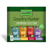 Natures Menu Country Hunter Superfood Selection Dog Pouches 12x150g