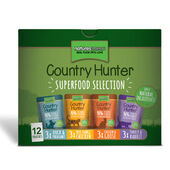 12 x Natures Menu Country Hunter Superfood Selection Cat Pouches 85g