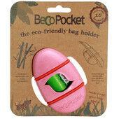 Beco Pocket - Eco Friendly Bag Dispenser Pink