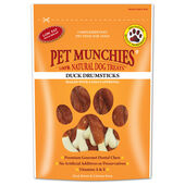 8 x Pet Munchies Duck Drumsticks 100g