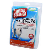 Simple Solution Dog Male Washable Wrap