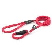 Ancol Heritage Nylon Rope Slip Lead 2 Tone Red 8mm X1.5m