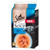 Sheba Pouch Classic Soup With Tuna Fillets 4x40g
