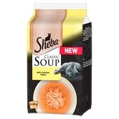 Sheba Pouch Classic Soup With Chicken Fillets 4x40g