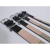Rosewood Luxury Leather Collar Three Tone