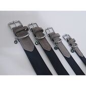 Rosewood Luxury Leather Collar Soft Touch Navy