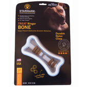 Starmark Treat Dispensing Treat Ringer Bone