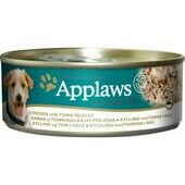 12 x 156g Applaws Chicken With Tuna In Jelly Dog Food