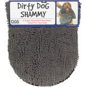 Dog Gone Smart Dirty Dog Drying Shammy Grey 33x79cm