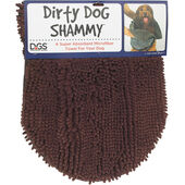 Dog Gone Smart Dirty Dog Shammy Brown 33x79cm