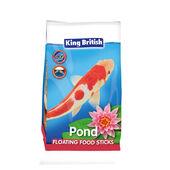2 x King British Pond Floating Food Sticks
