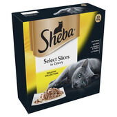 Sheba Tray Select Slices In Gravy Poultry Collection 12x85g