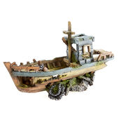 Classic Romantic Wrecks Fishing Boat 300mm