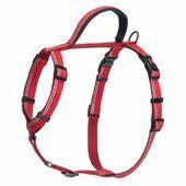 Halti Nylon Walking Harness Red