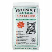 Friendship Estates Friendly Natural Straw Cat Litter - 8kg