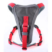 Doodlebone Nylon X-Over Dog Harness Red