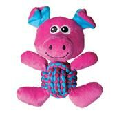 Kong Weave Knots Pig Medium