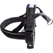 Dog & Co Nylon Norwegian Reflective Padded Dog Harness in Black