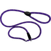 Dog & Co Mountain Rope Slip Lead Purple Reflective 150cm